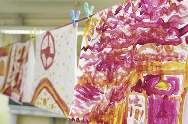 suse kaluza design kunstprojekt Rot Blau Gelb10