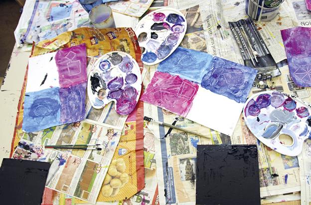 suse kaluza design kunstprojekt Rot Blau Gelb11
