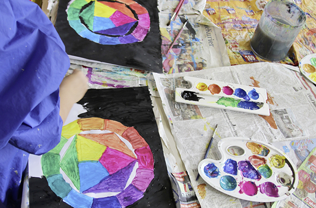 suse kaluza design kunstprojekt Rot Blau Gelb18