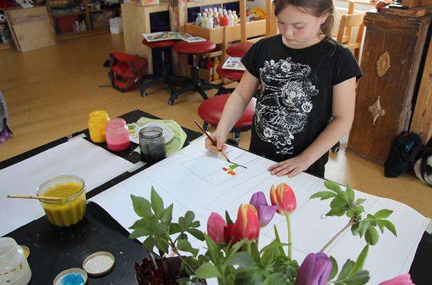 suse kaluza design kunstprojekt kohle kreide pinselstrich12